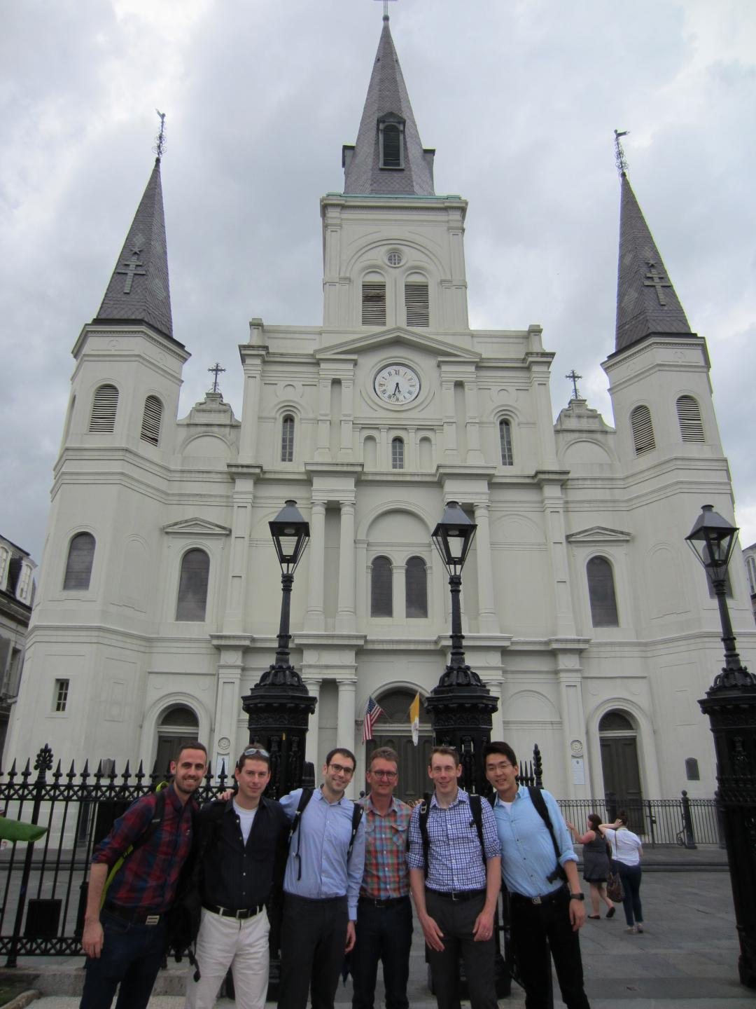 Group photo in New Orleans.
