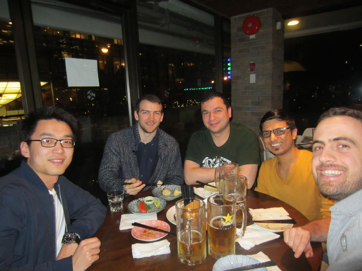 ESDLab members reunion in Vancouver, BC, 2017.